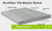 RockMax Tile Backer Board